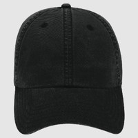 OTTO Garment Washed Lightweight Combed Cotton Twill Six Panel Low Profile Dad Hat