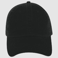 OTTO Garment Washed Cotton Twill Six Panel Low Profile Dad Hat