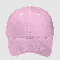 OTTO Garment Washed Pigment Dyed Cotton Twill Sandwich Visor Six Panel Low Profile Dad Hat