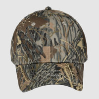 "OTTO Stretchable Camouflage Cotton Twill ""OTTO FLEX"" Six Panel Low Profile Baseball Cap"