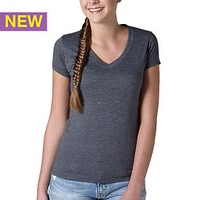Tultex Ladies' Poly-Rich Blend V-Neck Tee