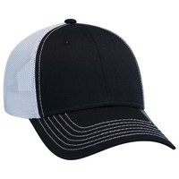 6 PANEL LOW PROFILE CONTRAST VERTICAL MESH BACK CAP