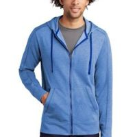 ® PosiCharge ® Tri Blend Wicking Fleece Full Zip Hooded Jacket Thumbnail